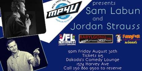 MP4U presents Jordan Strauss and Sam Labun tickets