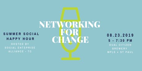 Summer Social Happy Hour for Changemakers tickets