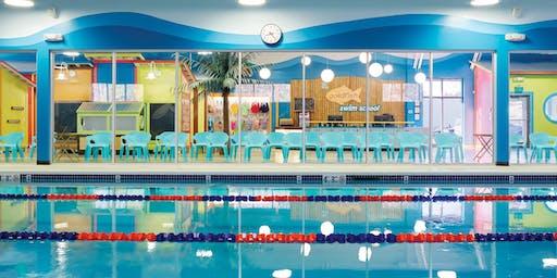 Mommy & Me Yoga then Swim at Goldfish Swim School--Centereach