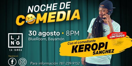 La Janga Comedy Night boletos
