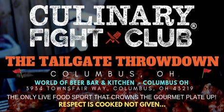 Culinary Fight Club - OHIO: The Tailgate Throwdown tickets