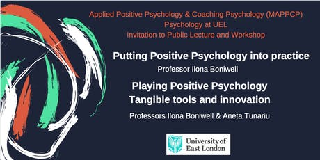 Putting Positive Psychology into practice tickets