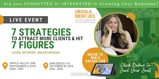 The Top 7 Business Strategies for Attracting Clients & Hitting 7 Figures