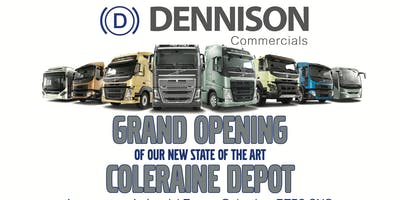 Grand Opening of Dennison Commercials New Coleraine Depot