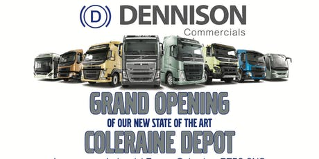 Grand Opening of Dennison Commercials New Coleraine Depot tickets