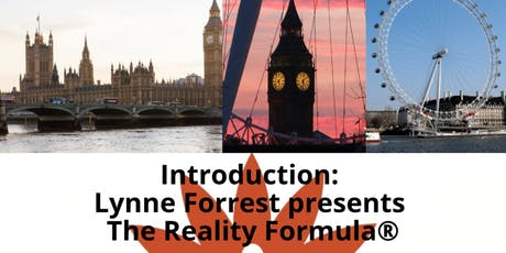 Introduction to the Reality Formula  (®) tickets