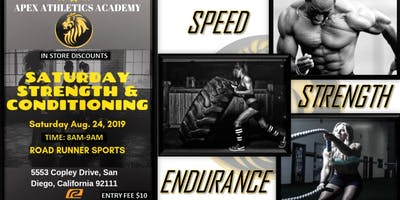 Apex Athletics Academy Strength and Conditioning Group Session