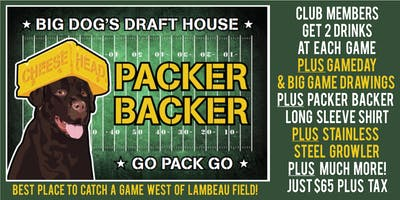 PACKER BACKER CLUB 2019-20