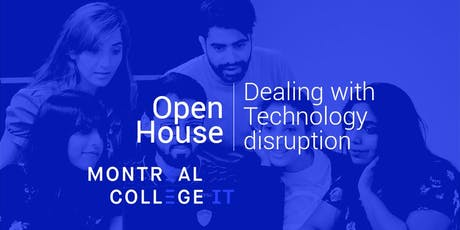 Dealing with Disruptive Technologies Open house tickets