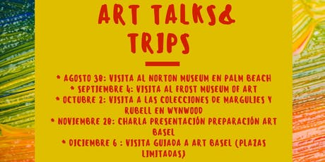 Art talks & Trips tickets