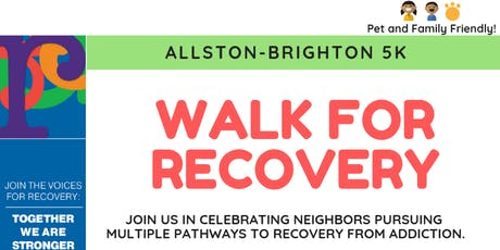 2019 Allston-Brighton 5K Walk for Recovery tickets
