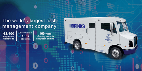 Hiring Event With Brinks Denver, Colorado On Saturday 08/24/2019 Start 9AM tickets
