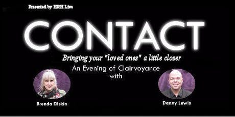 Contact Clairvoyant Evening With Brenda Diskin, Danny Lewis and guests tickets