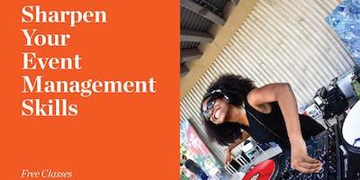 October 10, 2019 -- Event Management Program