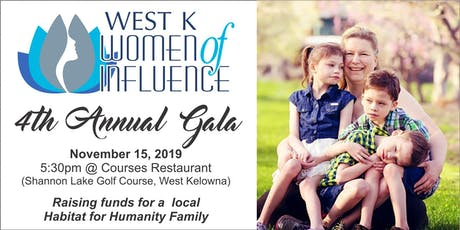 West K Women of Influence Fundraising Holiday Gala tickets