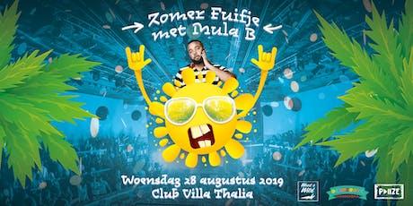 Zomer Fuifje met Mula B Live  tickets