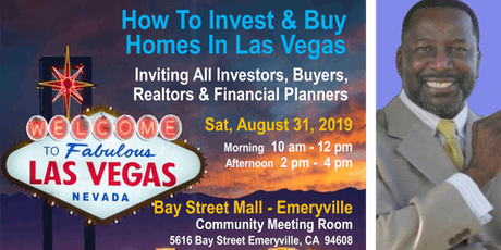 How To Invest and Buy Homes In Las Vegas - Seminar tickets