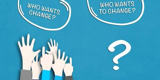 Change Management Classroom Training in Sheboygan, WI