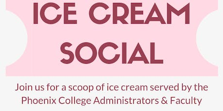 Phoenix College Ice Cream Social tickets
