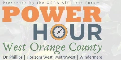 ORRA Power Hour: West Orange County Update