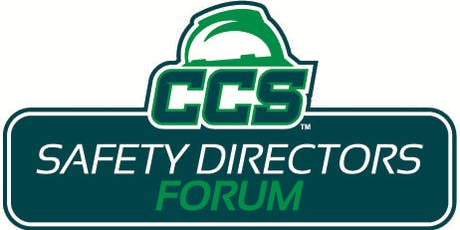 CCS October Safety Directors Forum: CCS Changes Coming in 2020 tickets