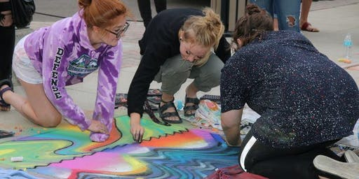 Chalk Art Competition - Meridian Art Week 2019