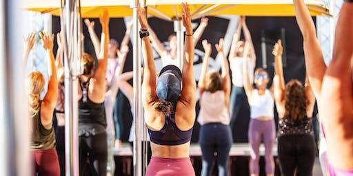 Yoga + Brunch at Topgolf