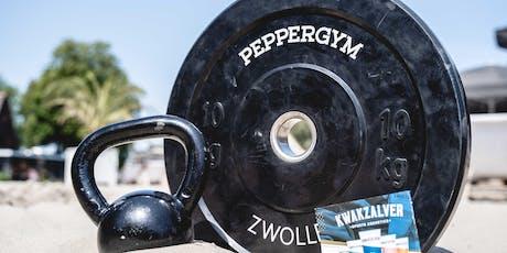 Pop-up-Beachgym (HIIT) + gratis drankje op Stadsstrand  tickets