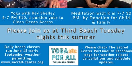 The Art of the PAUSE Meditation by Donation on Third Beach - with Kim Fuller tickets