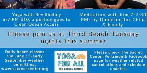 The Art of the PAUSE Meditation by Donation on Third Beach - with Kim Fuller