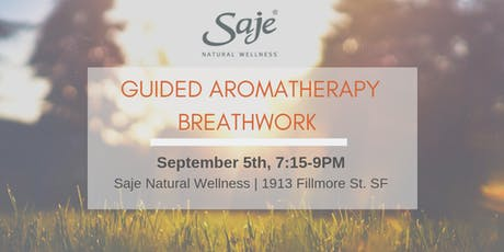 Guided Aromatherapy Breathwork tickets