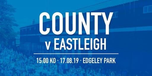 #StockportCounty vs Eastleigh F.C.