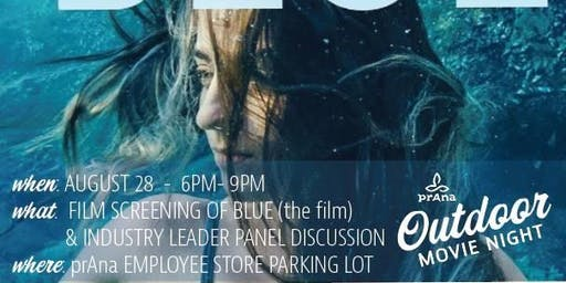 "Outdoor Movie Night - Documentary ""Blue"""