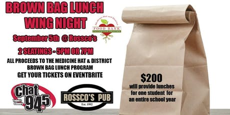 Rossco's Pub Wing Night-Feeding Hungry Kids in Medicine Hat  tickets