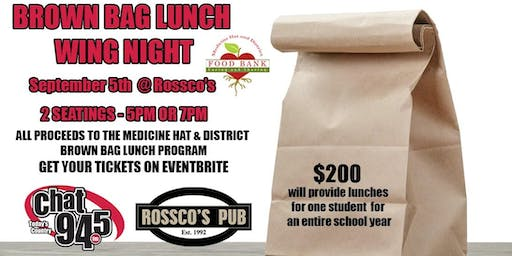 Rossco's Pub Wing Night-Feeding Hungry Kids in Medicine Hat