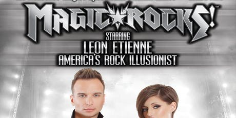 Illusionist Leon Etienne tickets