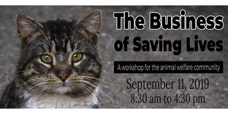 The Business Of Saving Lives Workshop tickets
