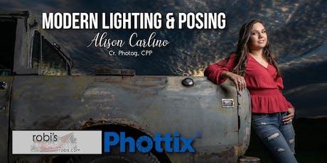 Modern Lighting & Posing - Natural to Flash tickets