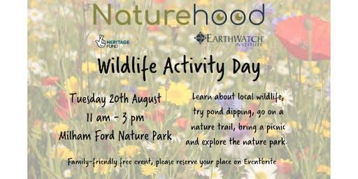 Naturehood Wildlife Activity Day