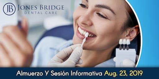 Almuerzo Y Sesión Informativa de Implantes Dentales ¡Gratis!