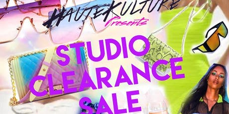 HAUTEKULTURE STUDIO CLEARANCE SALE tickets