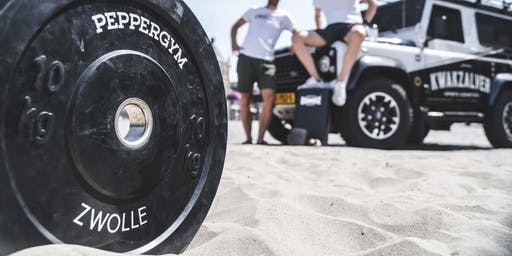 Pop-up-Beachgym (Strength) + gratis drankje op Stadsstrand
