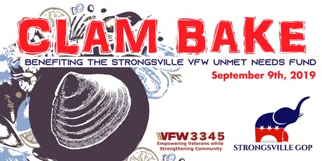 Strongsville GOP Clam Bake Benefiting The Strongsville VFW tickets