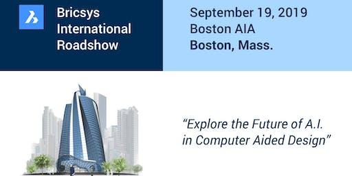 The Bricsys International Roadshow @ BSA (Boston Society of Architects / AIA)
