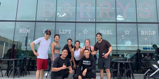 Instructor Matt from Barry's comes to lululemon!