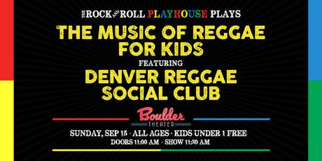THE MUSIC OF REGGAE FOR KIDS tickets
