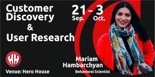 Workshop: Customer Discovery and User Research