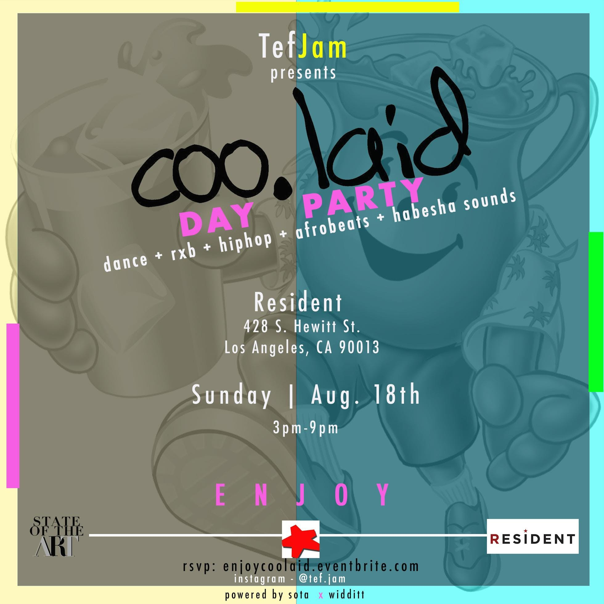 coo.laid Day Party