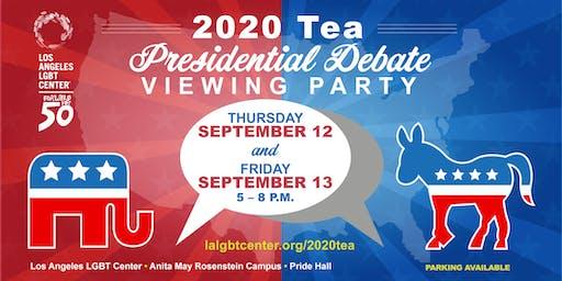 2020 Tea: Presidential Debate Viewing Party