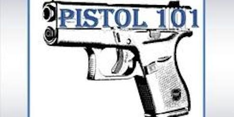 PISTOL 101- Basic Pistol tickets